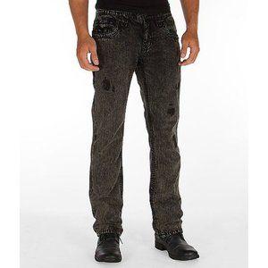 Rock Revival Kayne Slim Straight Jeans Black
